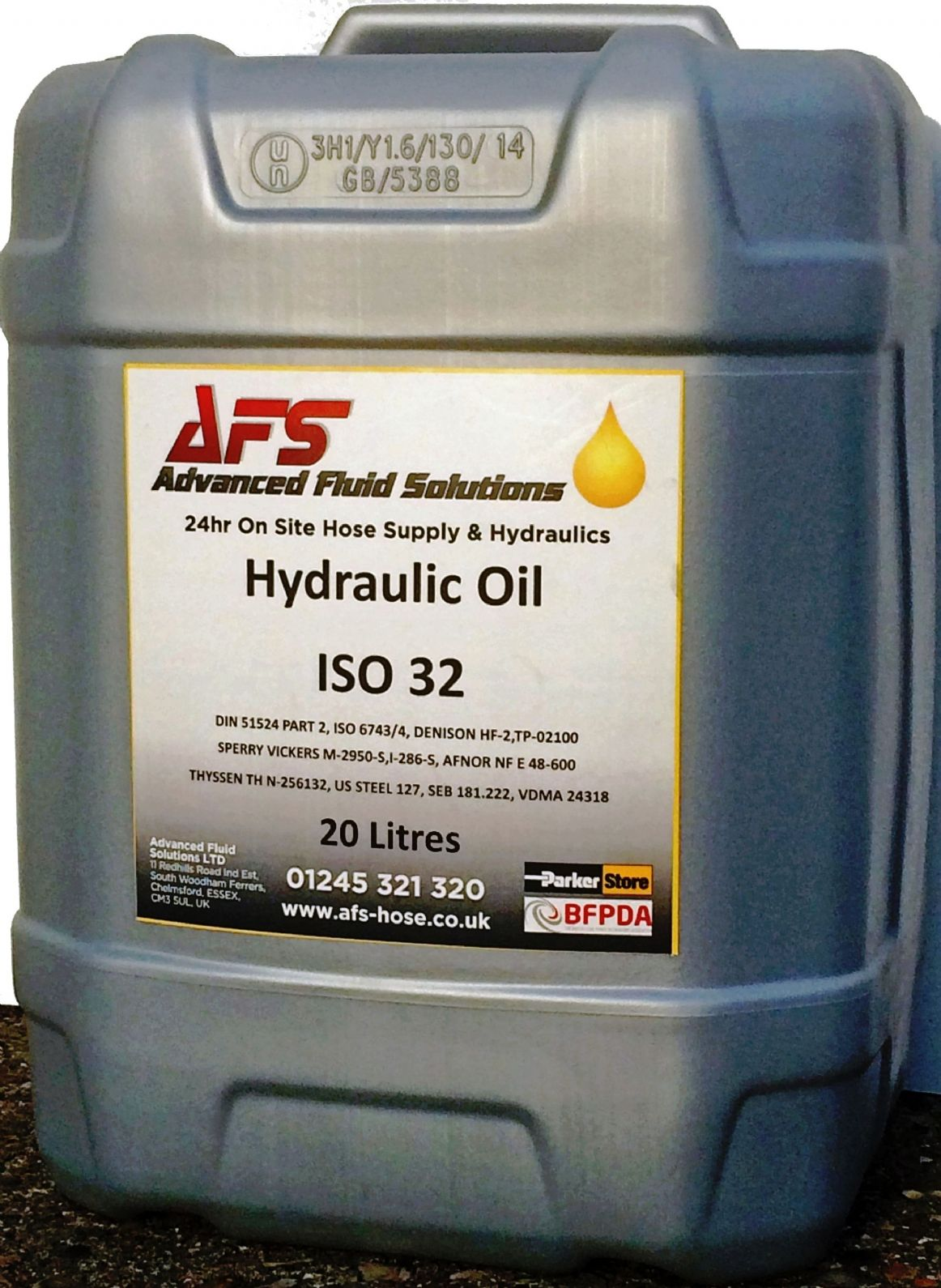 20ltr X 32 Grade Hydraulic Mineral Oil To Bs Iso 6743 4 Hm