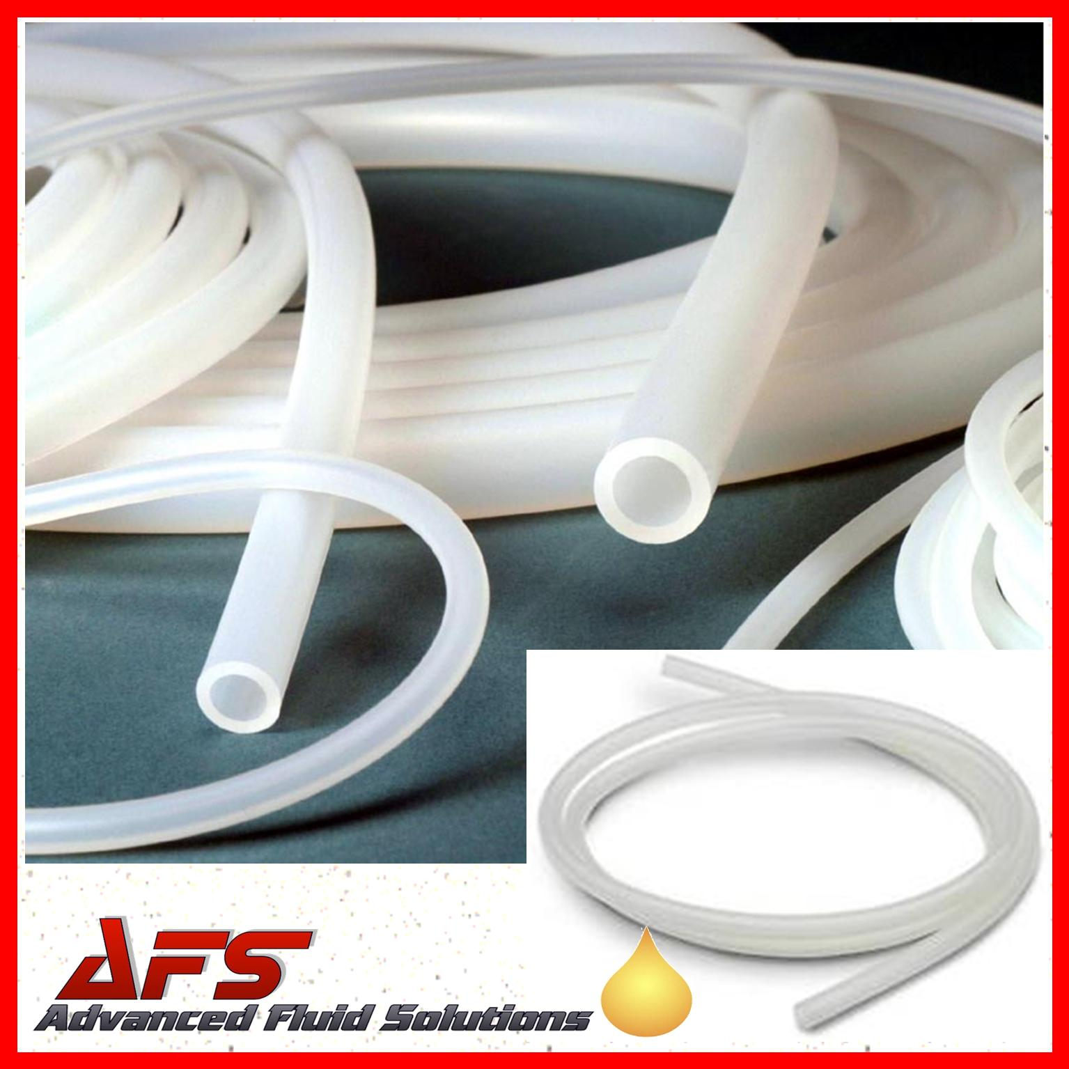 3mm I D X 7mm O D Clear Transulcent Silicone Hose Pipe Tubing