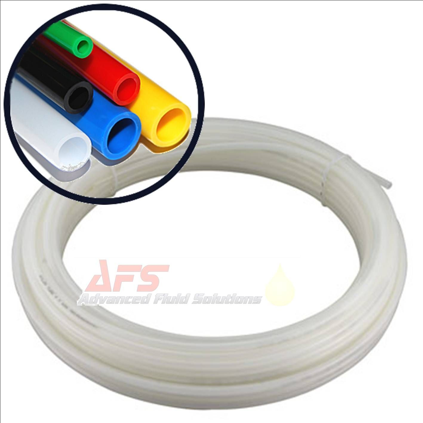 16 Inch O.D x 0.212 I.D Imperial Nylon Tube NATURAL Flexible Tubing