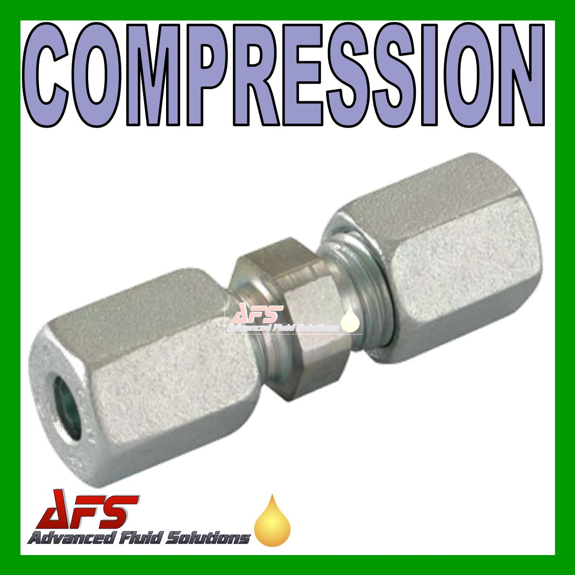 6l Equal Straight Tube Coupling Union 6mm Compression Pipe