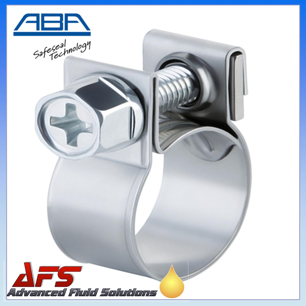 Aba Mini Stainless Steel Clip To Suit 13mm O D Hose 1 2