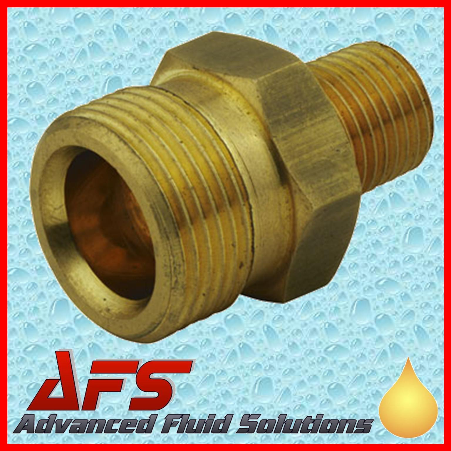 Brass M22 Male X 1 4 Bsp Male Pressure Washer Hose Adaptor