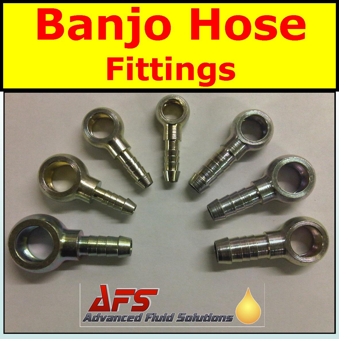 Banjo hose fittings