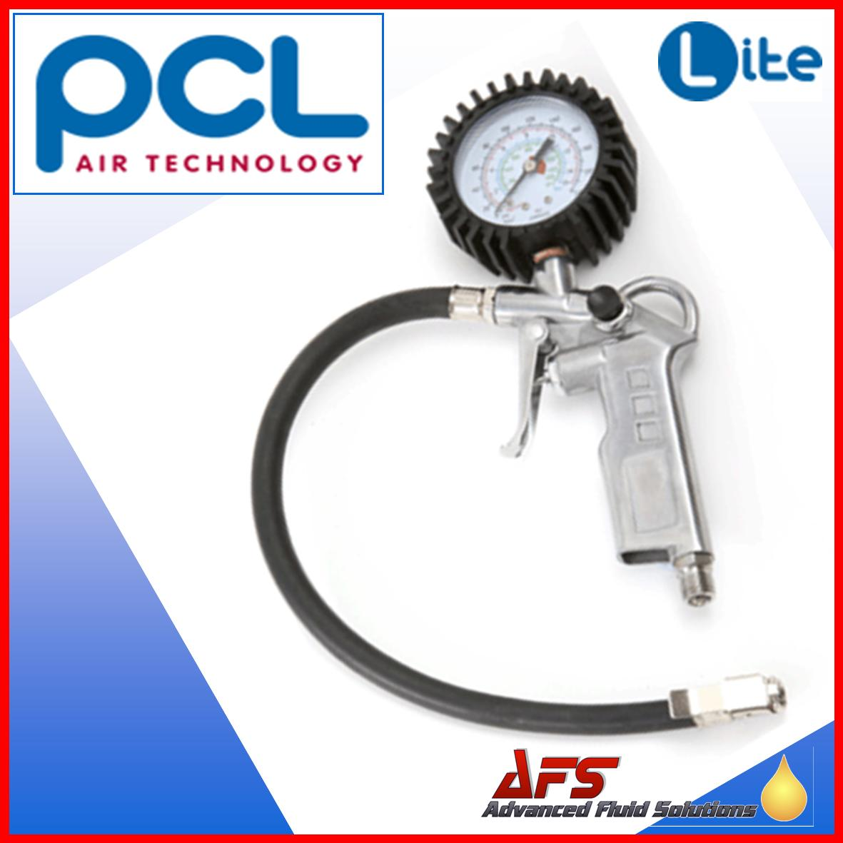 PCL Lite Alloy Blowgun Style Tyre Inflator LTG01 Euro Clip on