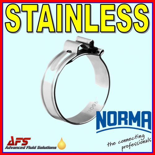 25mm Cobra W4 Stainless Steel One Piece Hose Clip