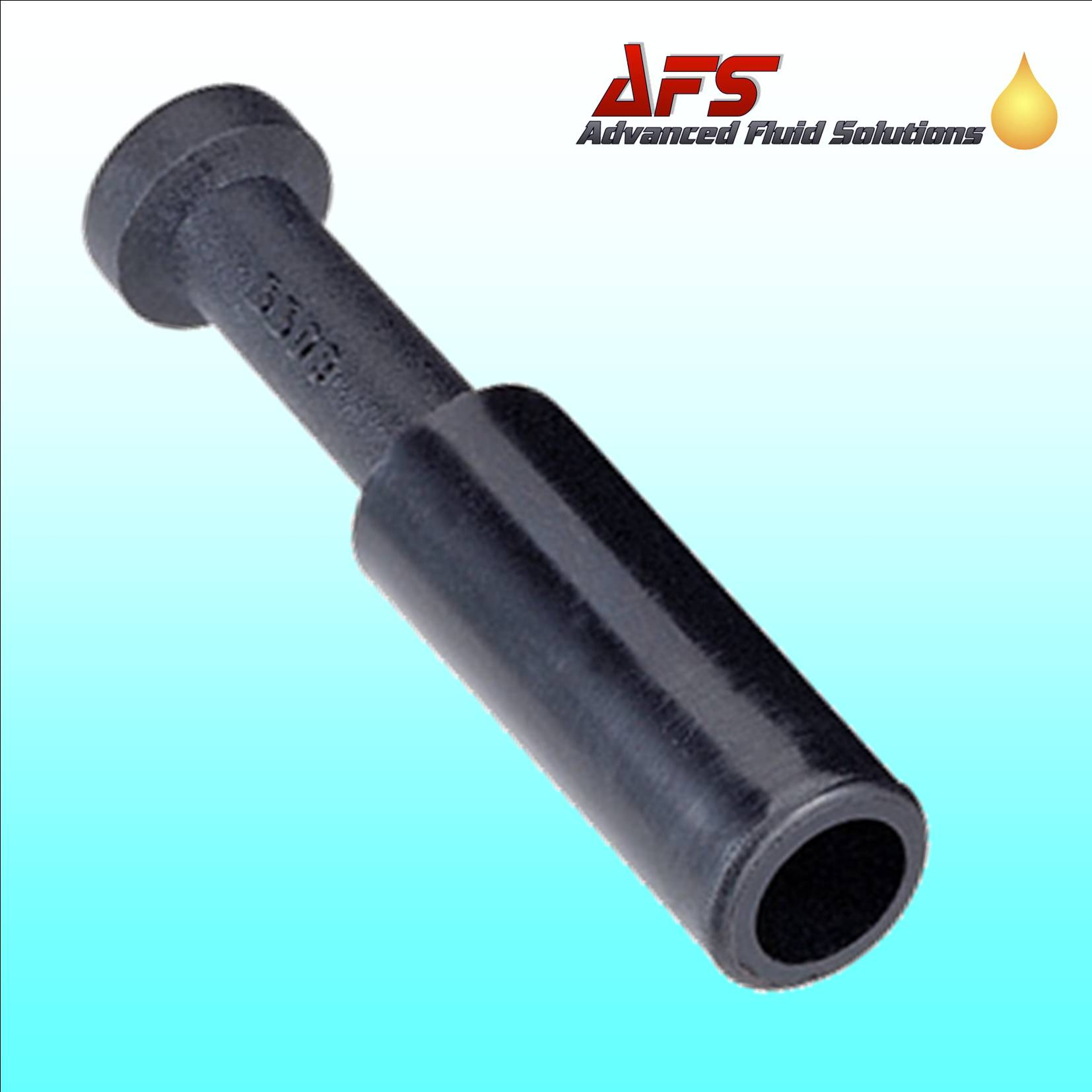 6mm Push Fit Male Stop End Pipe Tube Blanking Plug for Nylon Air Pipes