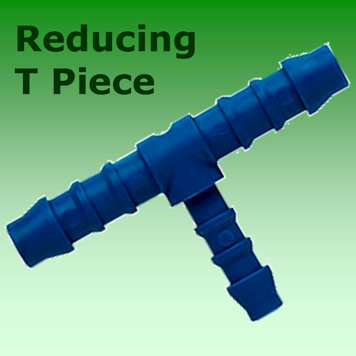 8mm 6mm 8mm Reducing Nylon T Piece Hose Joiner Connector