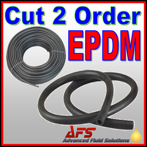 8mm I D (5/16) EPDM Unreinforced Rubber Tubing Hose Pipe