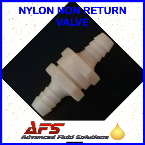 Nylon 10mm Straight Non Return Valve 3 8 Fuel Check